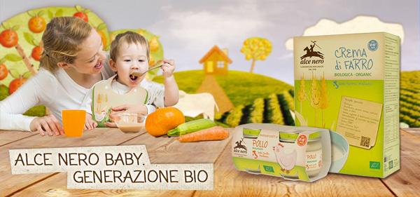 Crema biologica per neonati