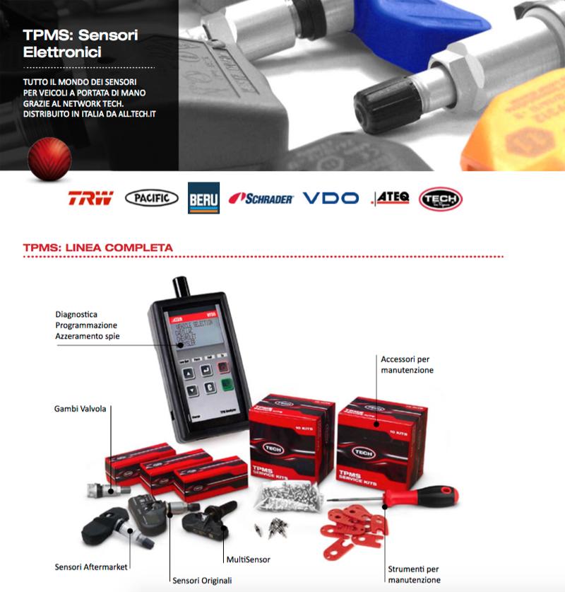 Sensori TPMS