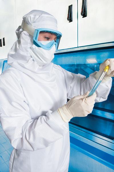 Sterilizzazione abiti da lavoro