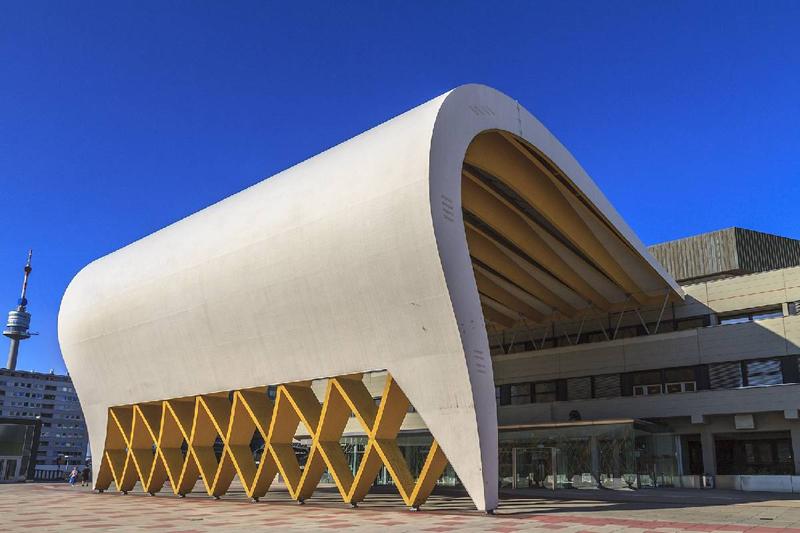 Calcestruzzo per edifici di design