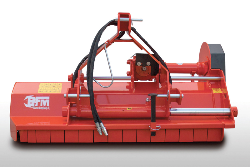 Trinciatrice idraulica rinforzata BTP