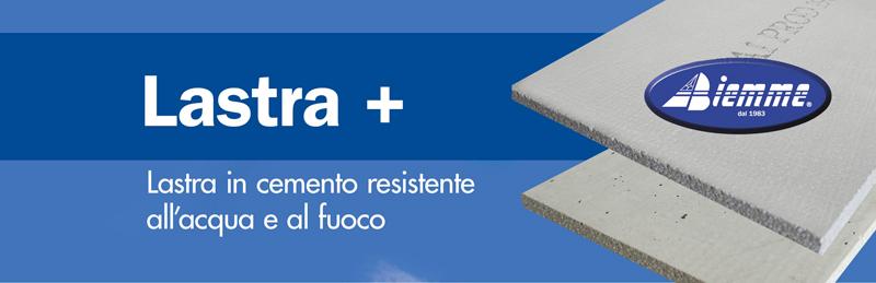 Lastra in cemento alleggerito e fibrorinforzato Lastra+