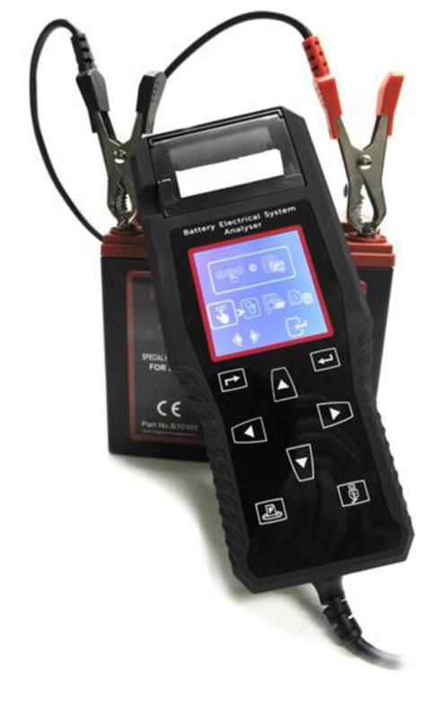 Tester professionale per batteria T10