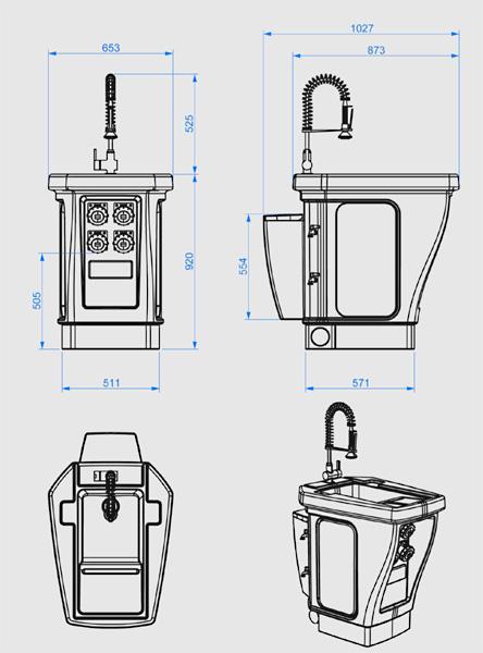 Lavandino e-700 Sink