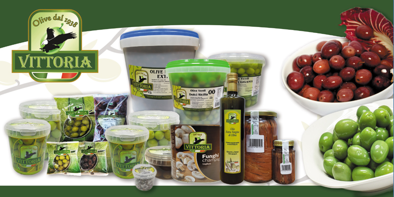 Produzione e lavorazione olive