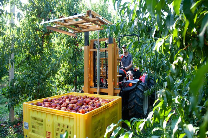 Elevatori idraulici per agricoltura
