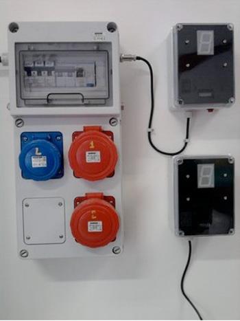Contatore e temporizzatore elettronico IP 65