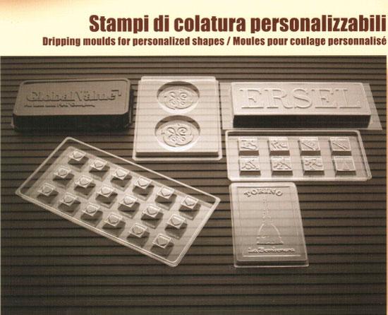 Stampi personalizzabili