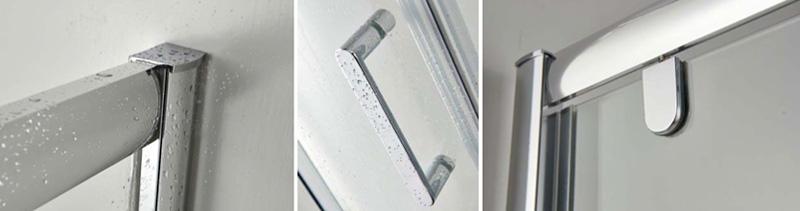 Cabina doccia con vetro temperato