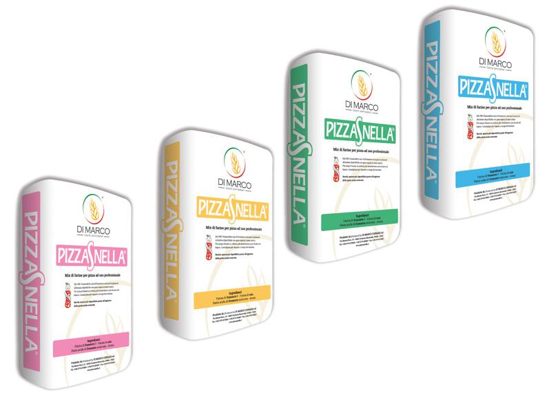 Mix di farine Pizzasnella