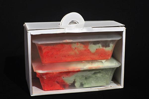 Vaschette per gelato Dragon Ice