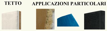 Pannelli isolanti per tetto e appicazioni particolari