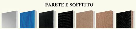 Prodotti per isolamento parete e soffitto