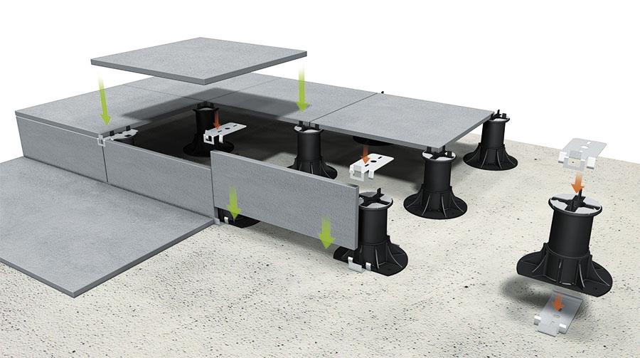 Supporti per pavimenti galleggianti esterni prezzi - Pavimento flottante esterno ...