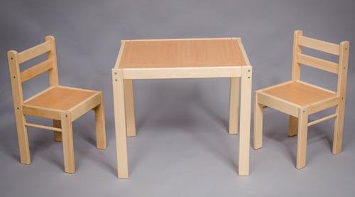 Tavolo In Legno E Sedie.Tavoli E Sedie In Legno Per Bambini Euroavi