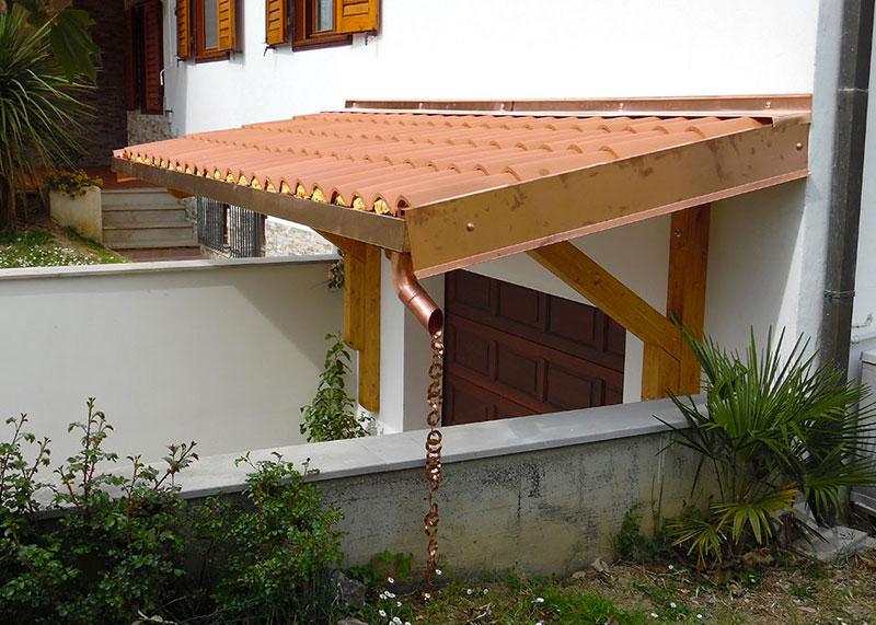 Favorito Tettoie in legno personalizzate EUROAVI SK72