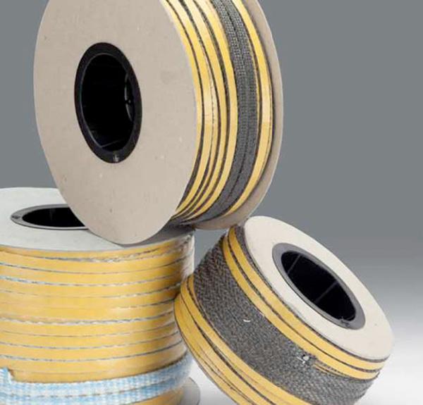 Nastri in fibra di vetro adesivi per isolamento vetri di stufe e caminetti