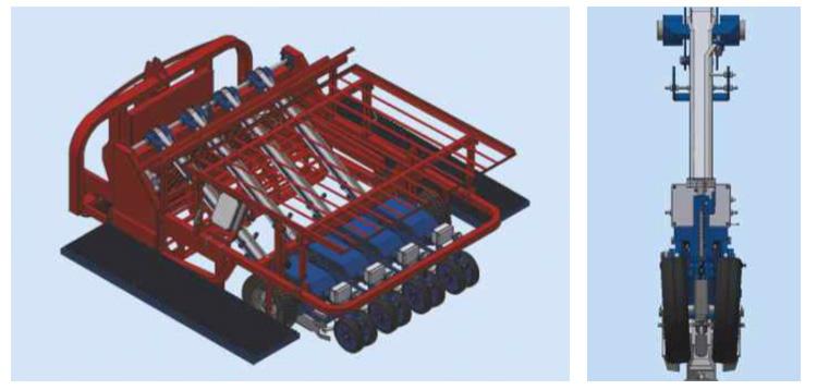 Trapiantatrice modulare