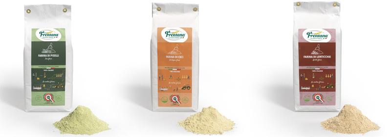 Farina di legumi confezioni 1kg