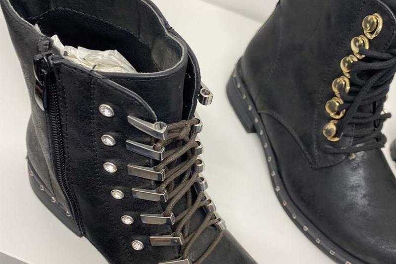Ganci e passalacci per calzature