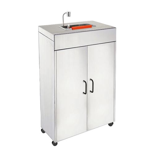 Lavaporzionatore mobile