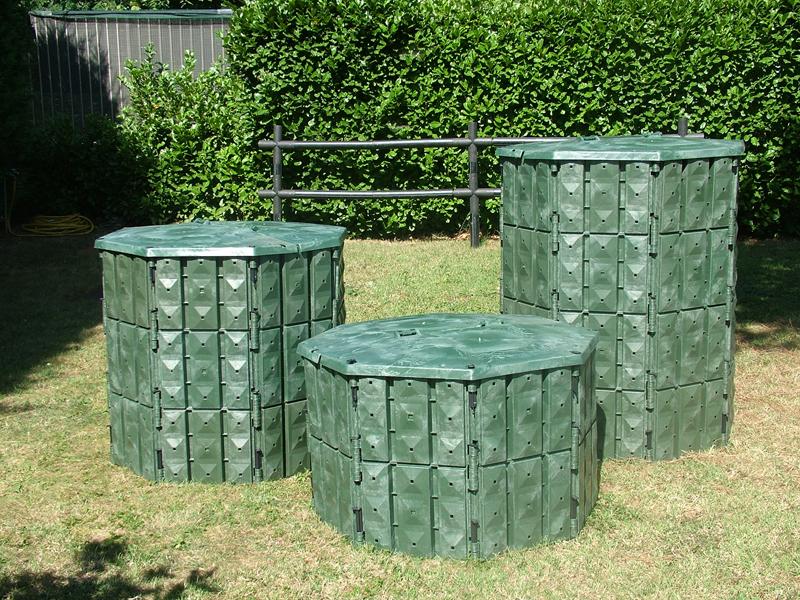 Compostiere per rifiuto organico domestico Komposter