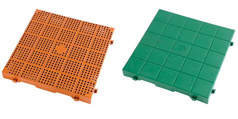 Pavimentazione areata modulare Quadra