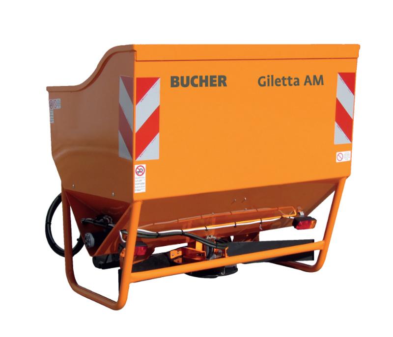Spargitore autocaricante serie Giletta AM