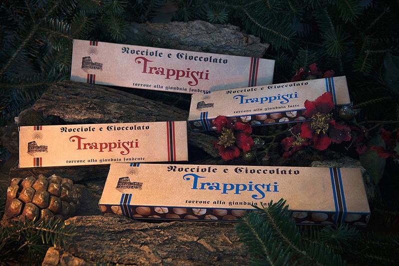 Torrone di cioccolato gianduia e nocciole intere DOP