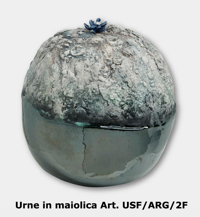 Urne in maiolica Art. USF/ARG/2F