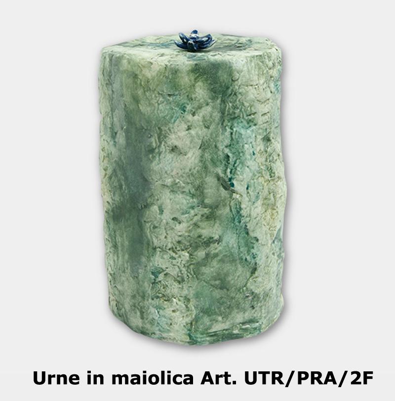 Urne in maiolica Art. UTR/PRA/2F