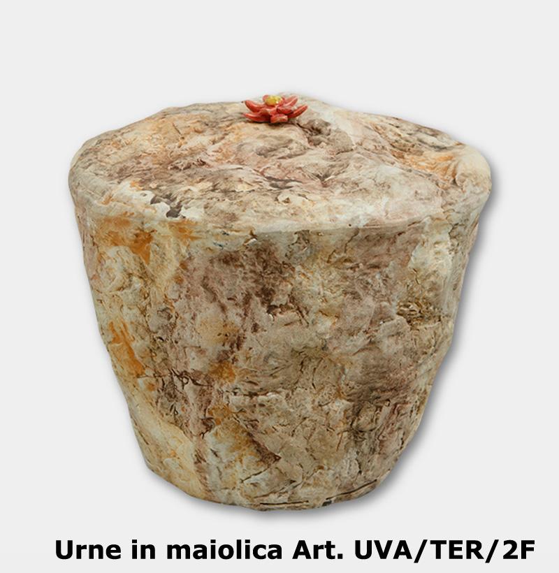 Urne in maiolica Art. UVA/TER/2F