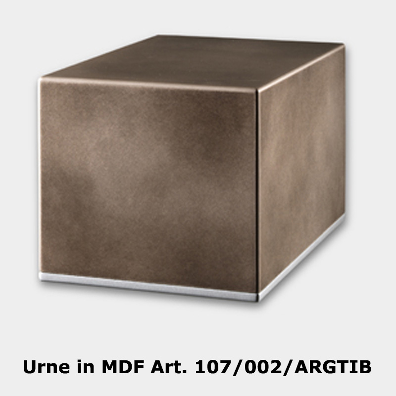 Urne in MDF Art. 107/002/ARGTIB