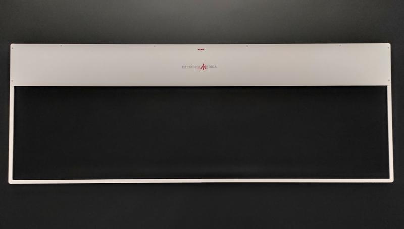 Pedana baropodometrica in alluminio Elegance