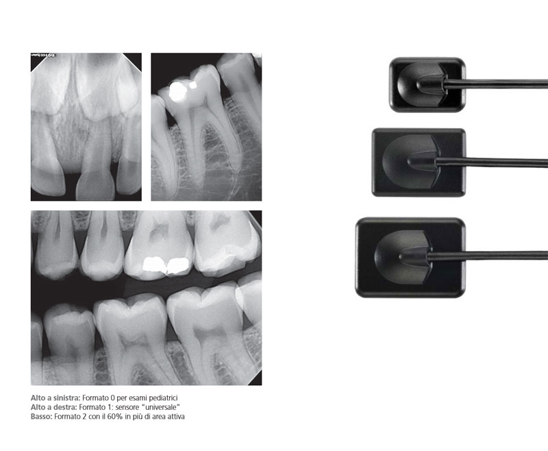 Sistemi di radiografia digitale RVG CS5100 CS6100