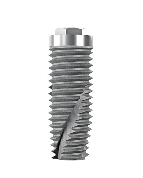 Impianti in titanio cilindrici sommersi esagono esterno