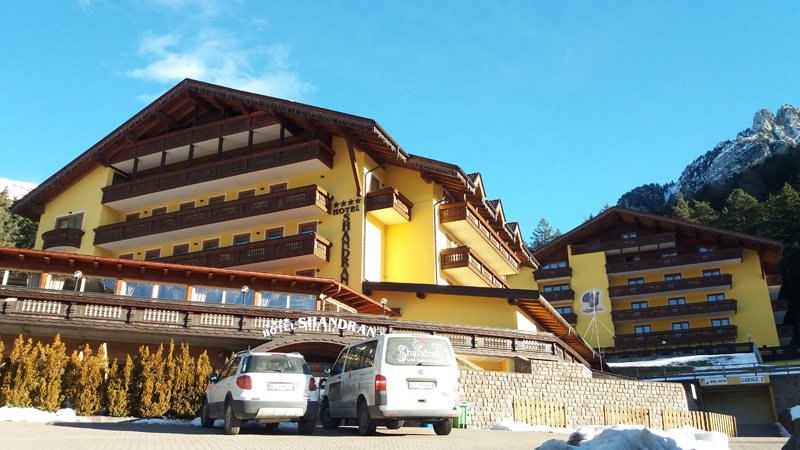 Nuovo Blocco Isotex®: Hotel Shandranj Trento