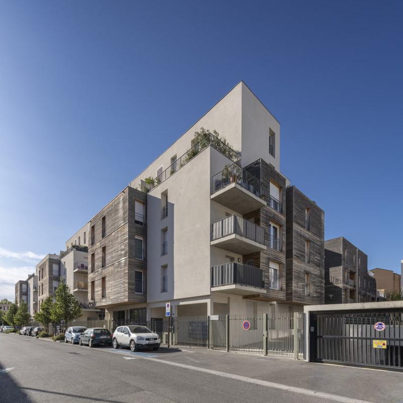Nuovo Blocco Isotex®: Quartiere residenziale ad Avignone (Francia)