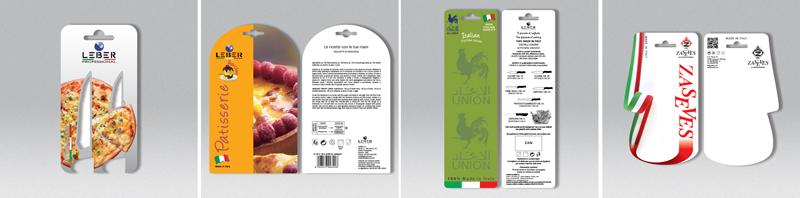 Cartellini personalizzati in carta