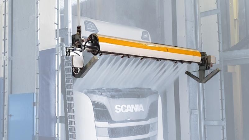 Barra oscillante per impianto di lavaggio a portale Omega Wash