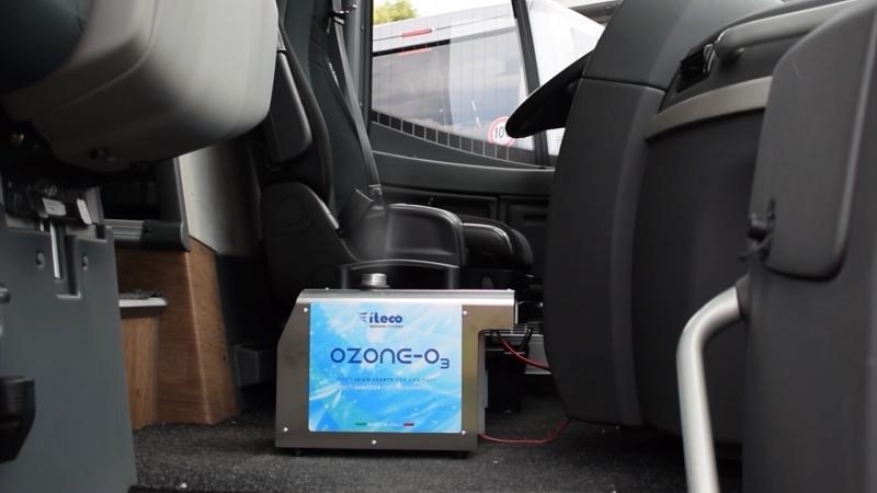 Impianto di nebulizzazione per igienizzazione ambienti Ozone-O3