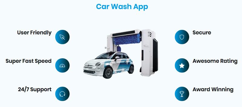 App per il controllo e la gestione dell'impianto car wash