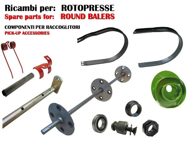 L'Agricola Ricambi produce pezzi e componenti per macchine agricole multimarca e multimodello
