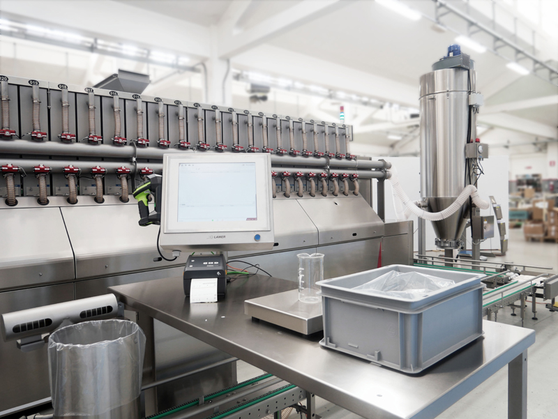 Sistema di pesatura automatizzata ingredienti