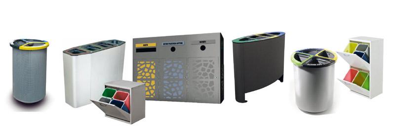 Contenitori raccolta differenziata rifiuti leodavinci for Mobili contenitori da esterno