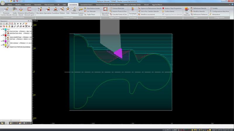 Alphacam - software per metallo
