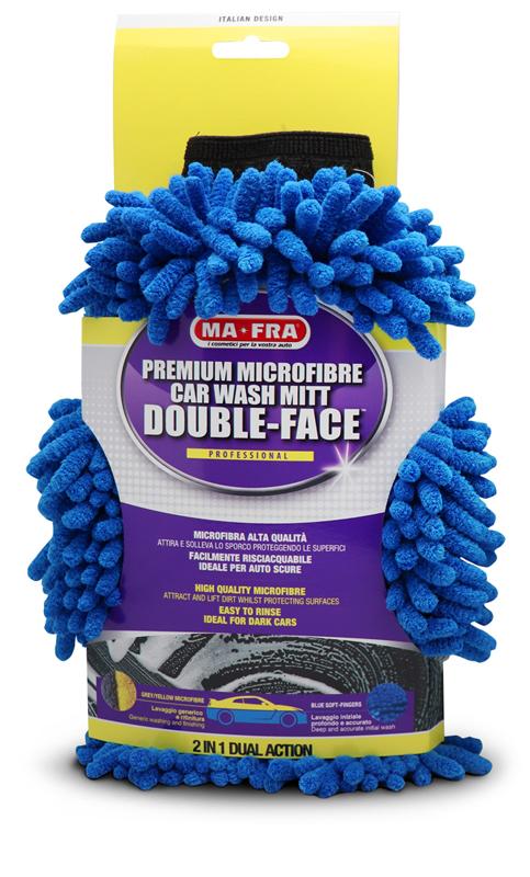 Guanto Double Face per lavaggio auto