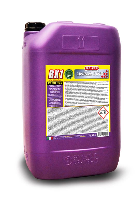 Detergente schiumogeno per box self service BX1