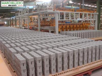 Automatismi per impianti produzione mattoni