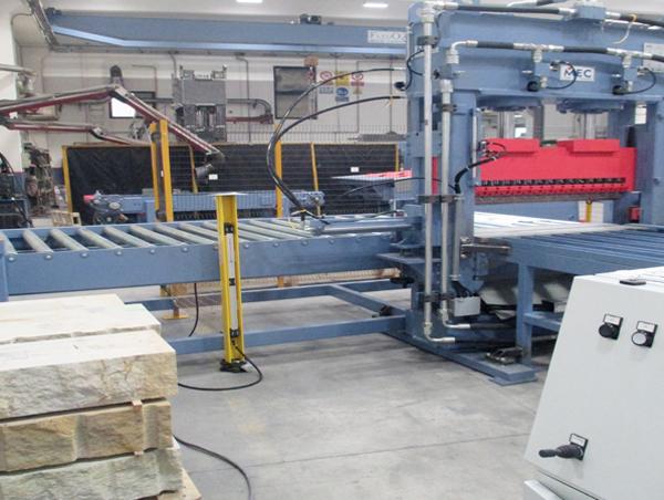 Impianti semiautomatici per splittare cemento